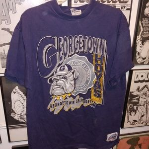 Vintage 90s Georgetown University Hoyas Shirt